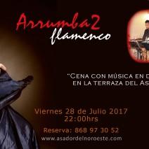 Cena musical al ritmo de Flamenco